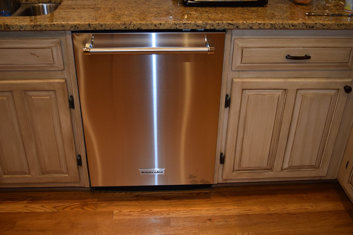 Superieur Home Reviews Installing The KitchenAid KDTE204ESS Dishwasher. Reviews