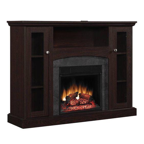 Mueble calefactor chimenea el ctrica contempor nea 121cm r c en venta en guadalupe nuevo le n - Chimenea electrica mueble ...