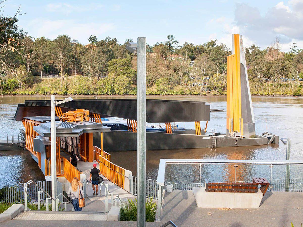 Brisbane Ferry Terminals, Passengers