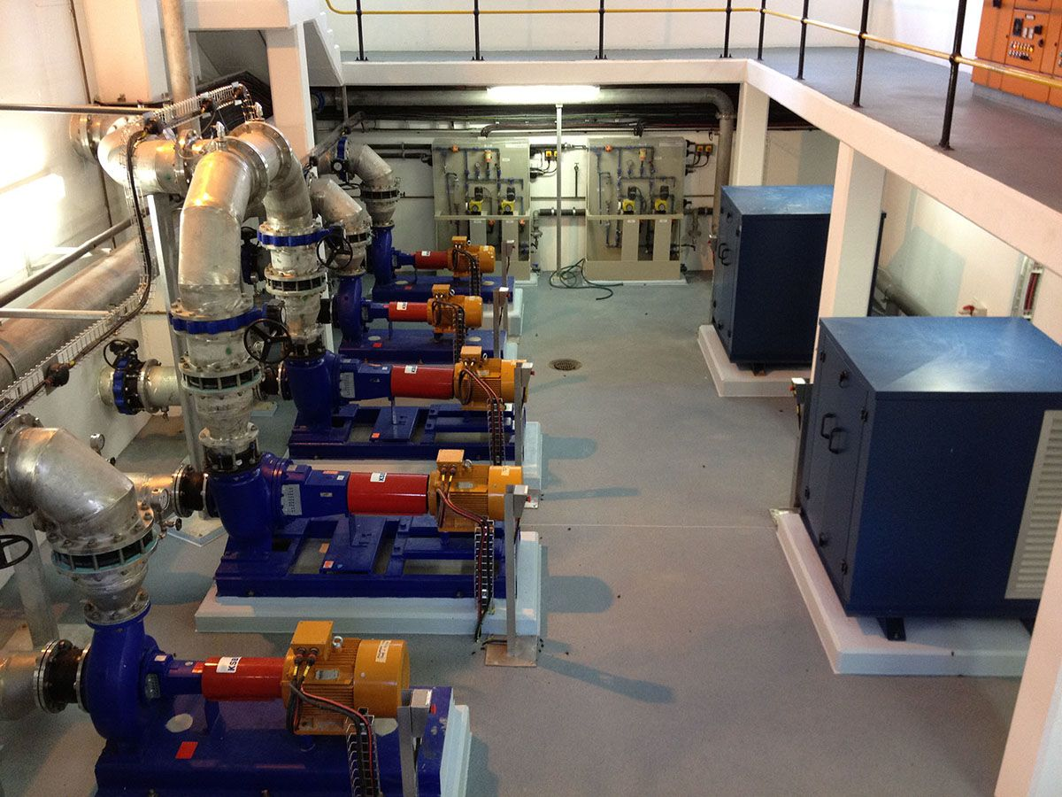 Preekstoel Water Treatment Works Compressor