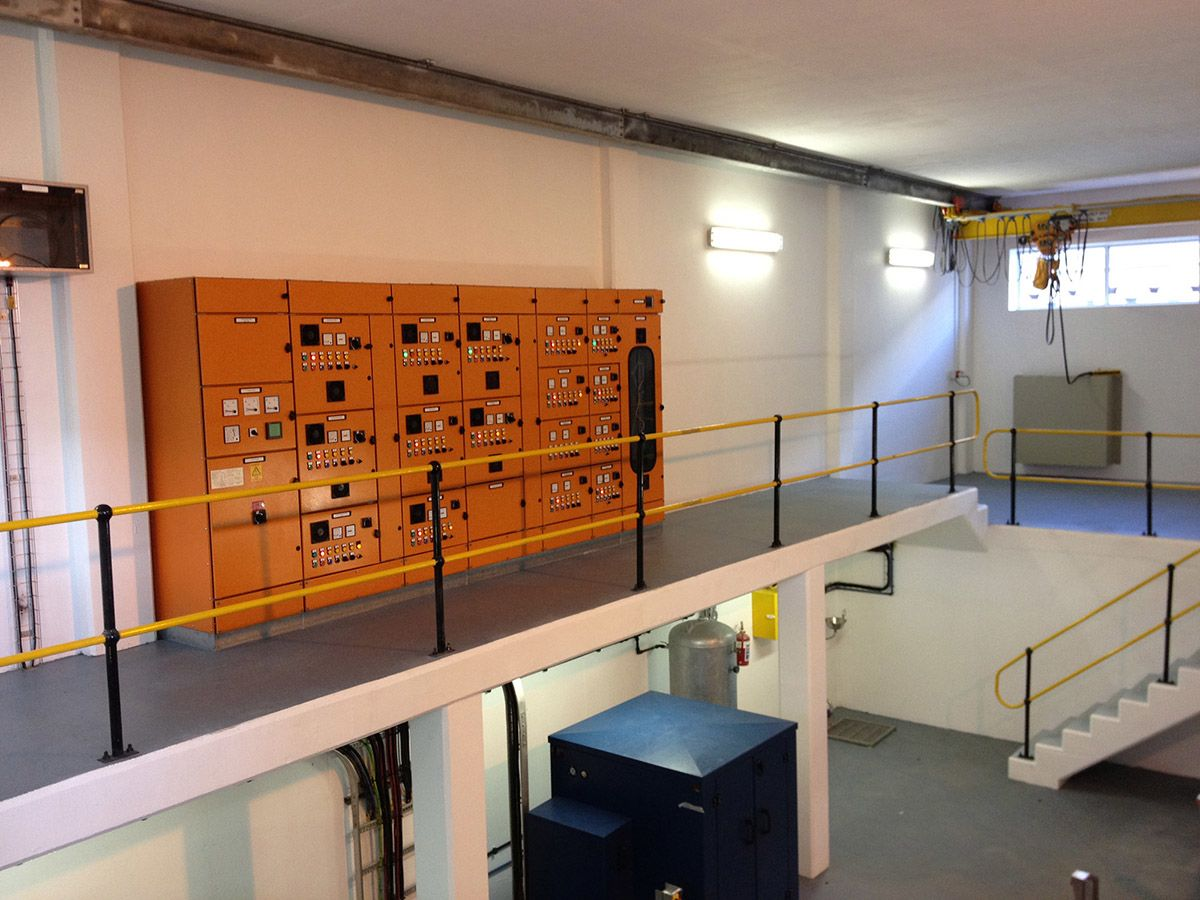 Preekstoel Water Treatment Works Motor Control Centre
