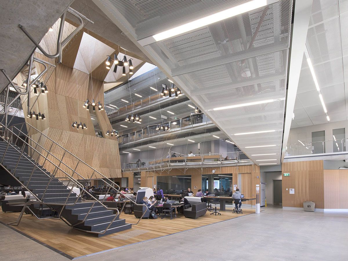 School of Design, University of Melbourne, Atrium