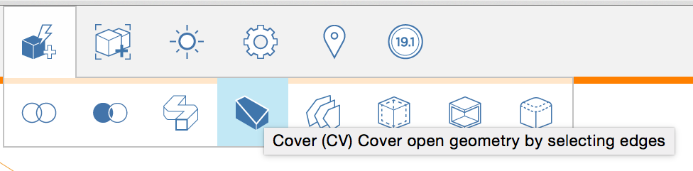Cover Toolbar