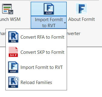 The FormIt Add-In for Revit