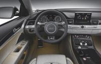 2013 Audi S8 - steering wheel and instrument panel.jpg