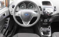 2014 Ford Fiesta 1.0 EcoBoost - steering wheel and instrument panel.JPG