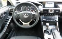 2014 Lexus IS350 - steering wheel and instrument panel.JPG