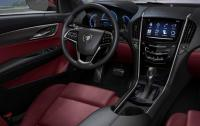 2013 Cadillac ATS - steering wheel and centre stack.jpg