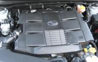 2015 Subaru Legacy - 3.6-L six-cylinder engine.JPG