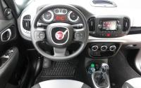 2014 Fiat 500L - steering wheel and instrument panel.JPG