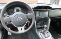 2013 Scion FR-S - steering wheel and instrument panel.JPG
