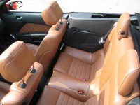 2013 Ford Mustang GT convertible - rear seats.JPG