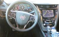 2014 Cadillac CTS - steering wheel and instrument panel.JPG