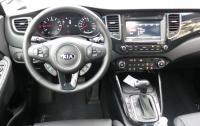 2014 Kia Rondo - steering wheel and instrument panel.JPG