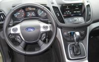 2013 Ford Escape - steering wheel and instrument panel.JPG