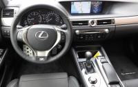 2013 Lexus GS350 F-Sport - steering wheel & instrument panel.JPG