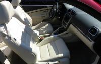 2013 Volkswagen Eos - front seats top down.JPG