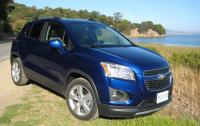 2013 Chevrolet Trax - front 3/4 view, coastal.JPG