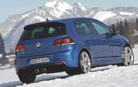 2012 Volkswagen Golf R -rear 3/4 view.jpg