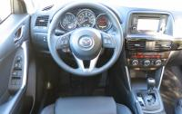 2014 Mazda CX-5 - steering wheel and instrument panel.JPG