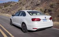 2013 Volkswagen Jetta Hybrid - Rear.jpg