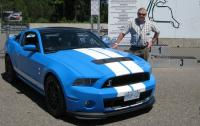 Clare Dear with 2013 Shelby GT500 at Calabogie.jpg