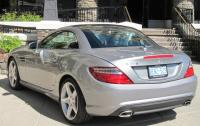 2012 Mercedes-Benz SLK - rear 3/4 view top up.JPG