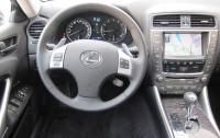 2012 Lexus IS350 - steering wheel & instrument panel.JPG