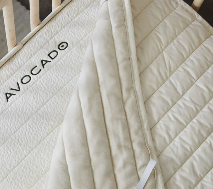 Organic Crib Mattress Protector Product Photo