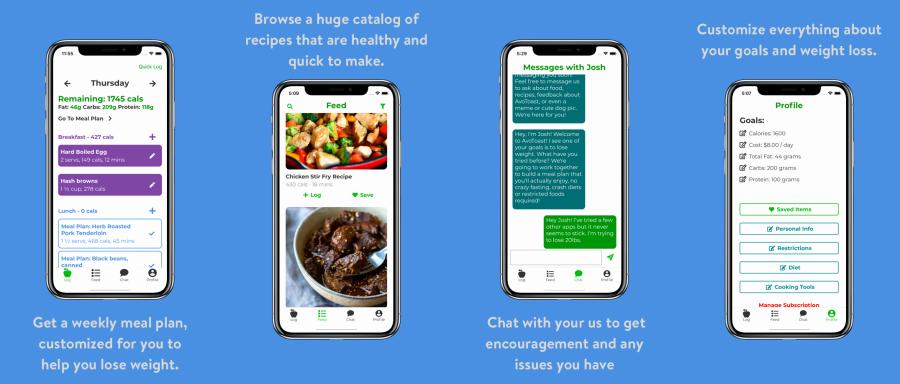 AvoToast iOS app