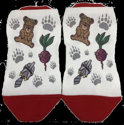 bears beets battlestar galactica sock
