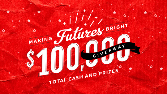 Win Cash and Prizes!