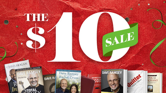 The $10 Sale is Back!