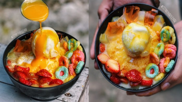 Serba Kuning, 5 Es Kaki Lima yang Segernya Bikin Nelen Ludah, Yuk Cicipi McFlurry Durian