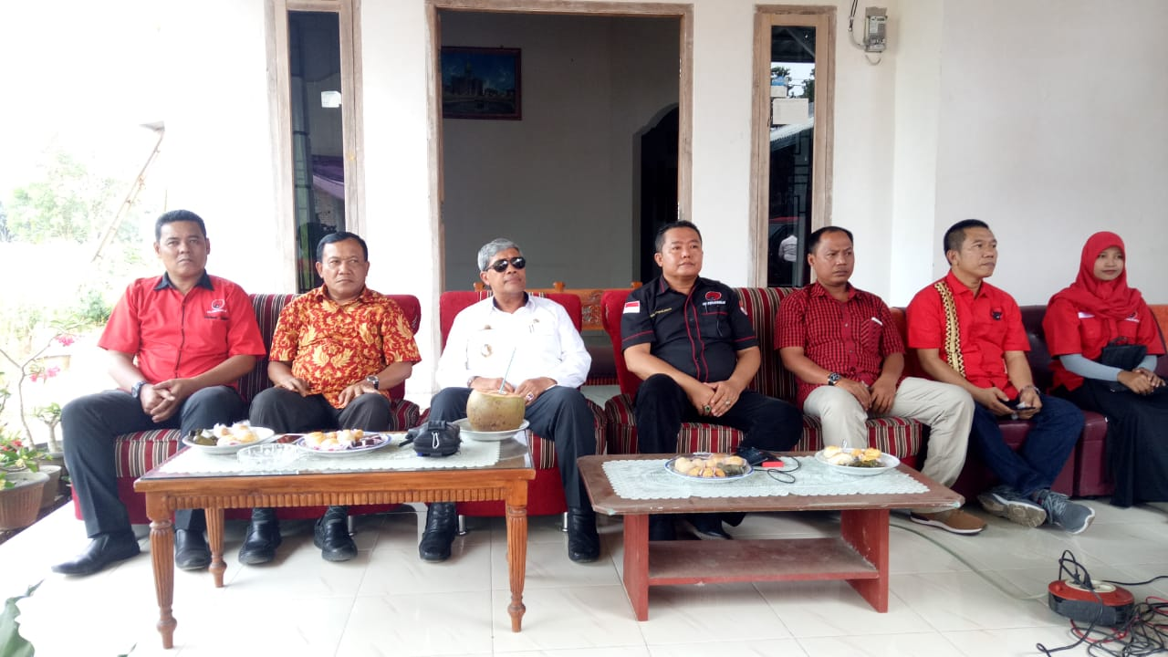 Bambang Suryadi: Kader PDIP Lamteng Wajib Sosialisasikan Gotong Royong Sampai Tingkat Bawah