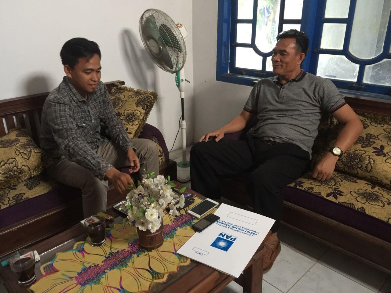 PAN Lamteng Prioritaskan Kader Internal Yang Diajukan Sebagai Calon Pendamping Loekman Djoyosoemarto
