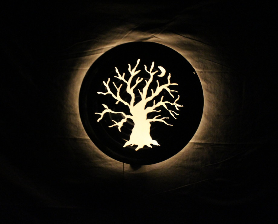 Moon Tree Luminary