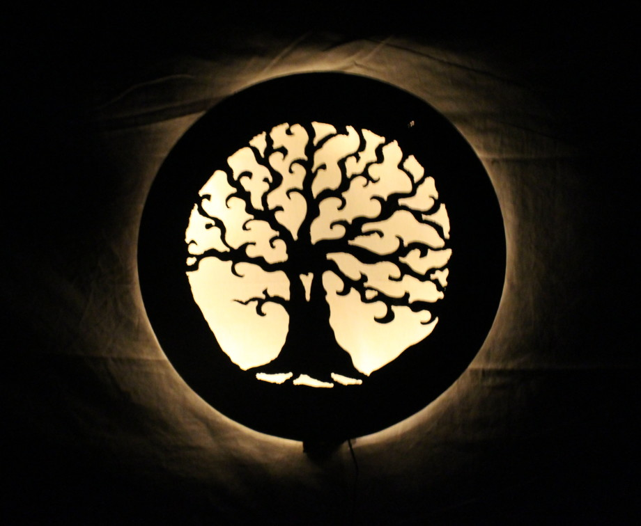 Spiral Tree Luminary