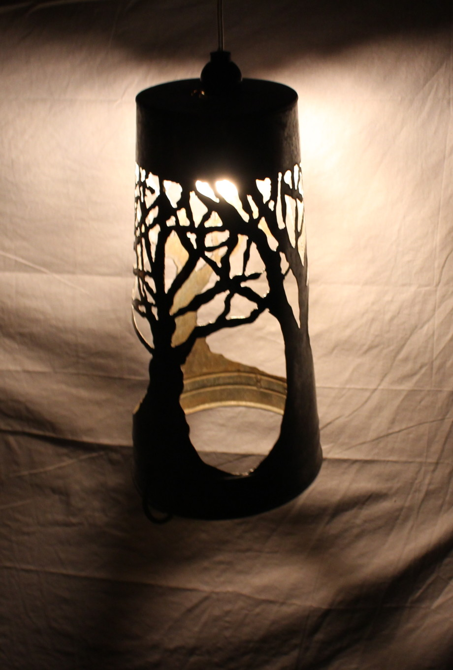 Tree lampshade - large