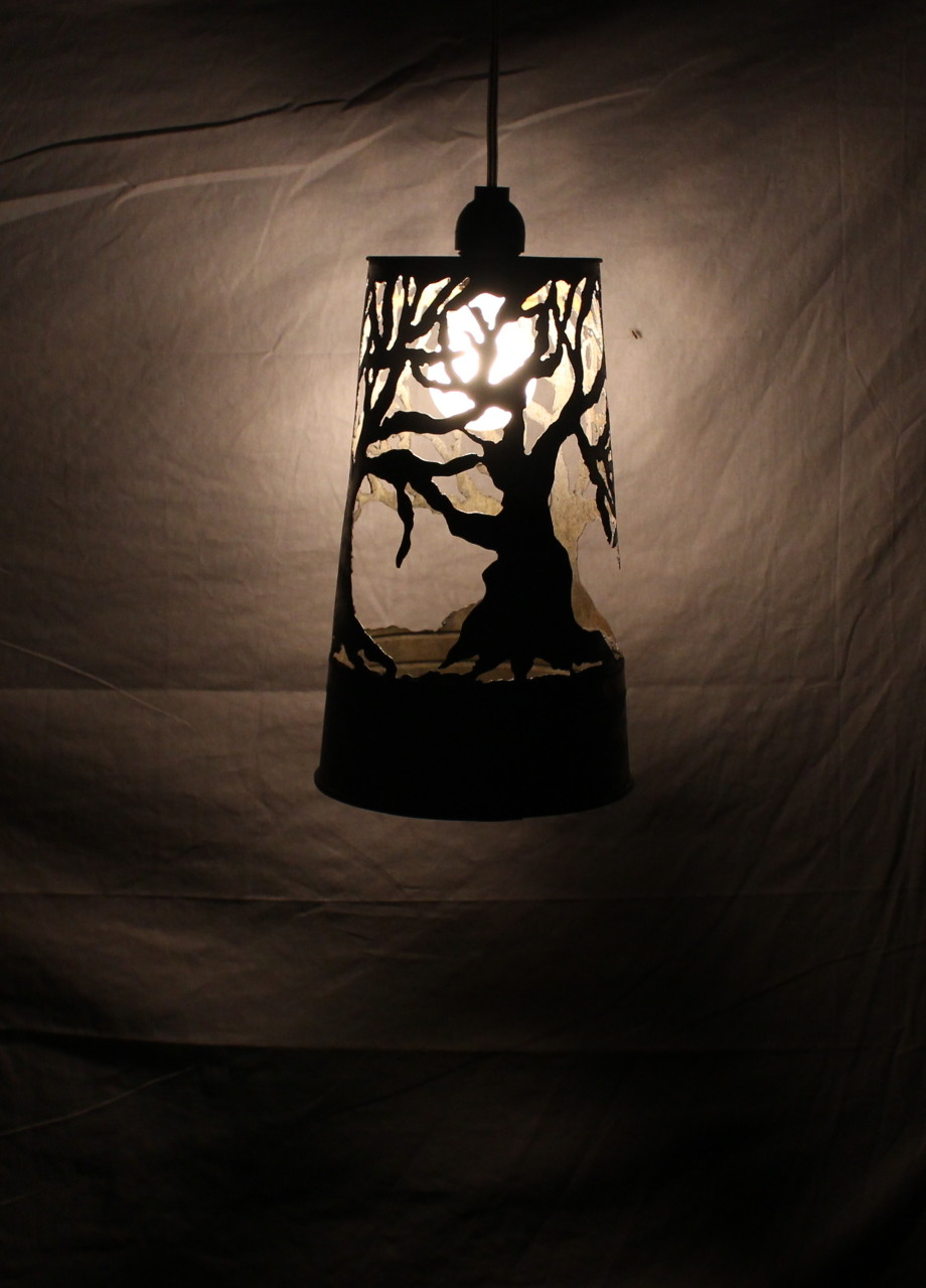Tree lampshade - small