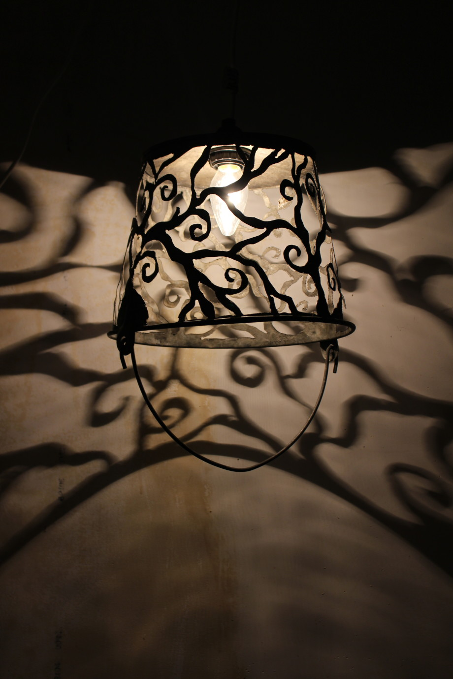 Spiral Vines lampshade