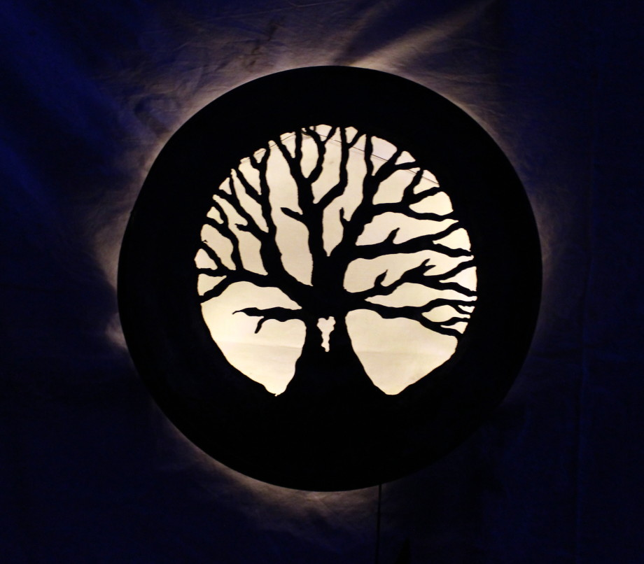 Heart Tree luminary