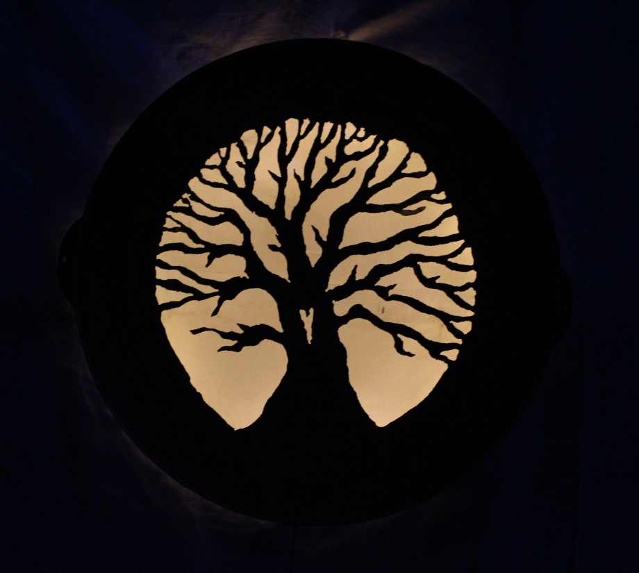Heart Tree luminary 2