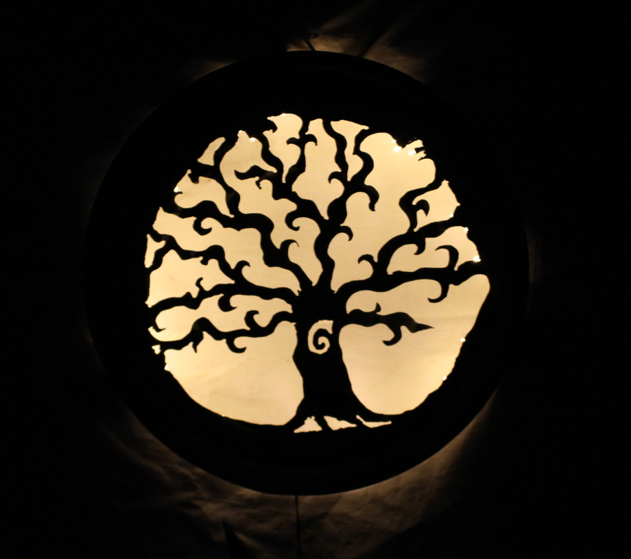 Spiral Tree Luminary 2