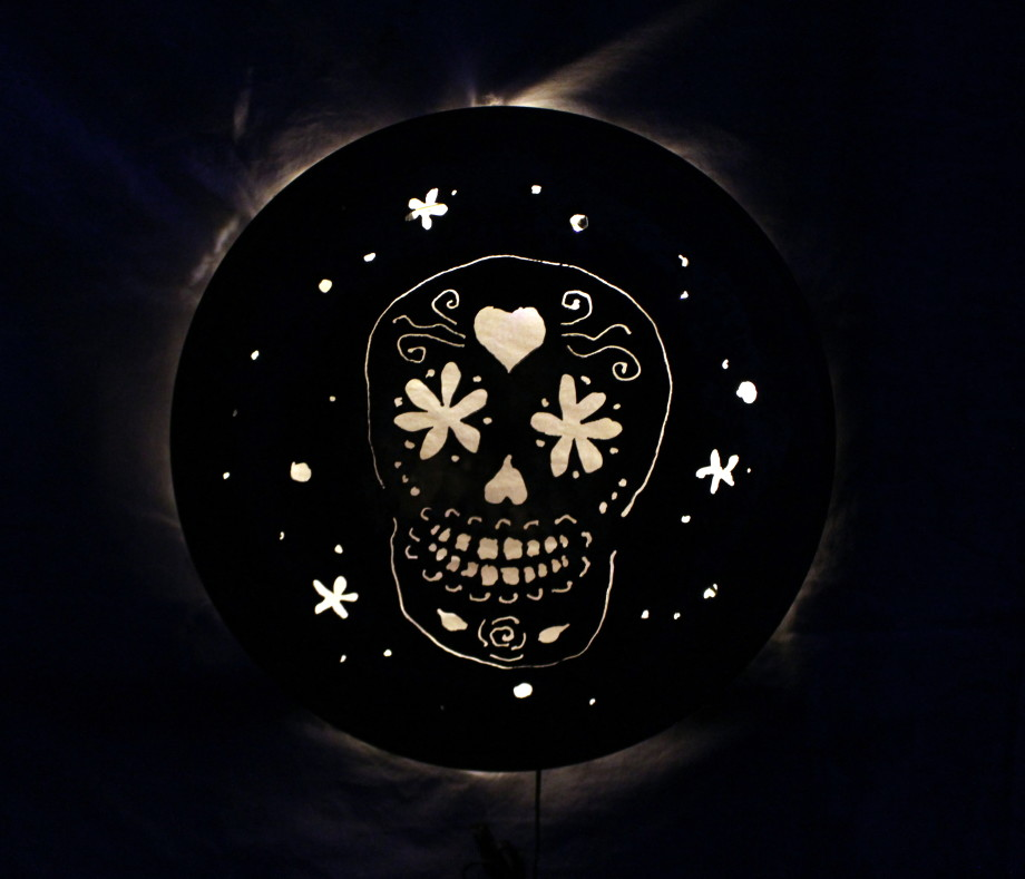 Day of the Dead luminary