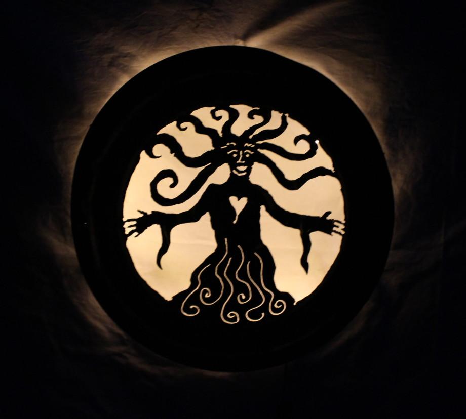 Goddess luminary