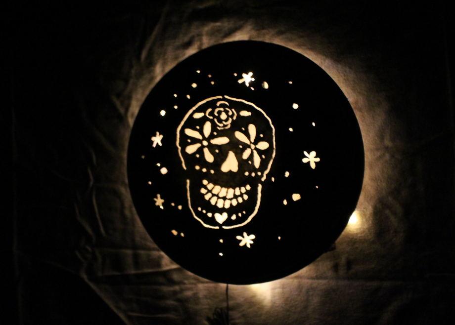 Sugar Skull luminary