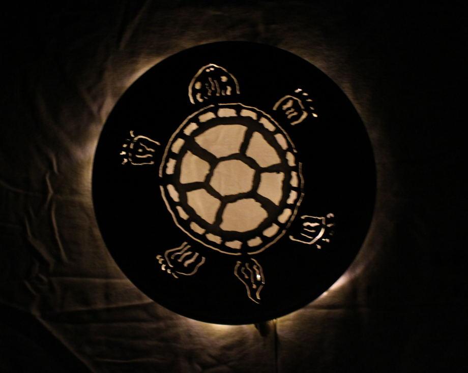 Turtle luminary
