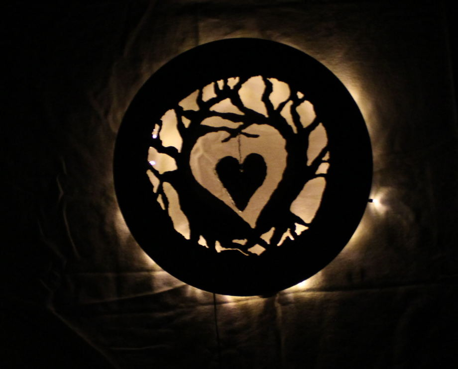 Heart Trees luminary