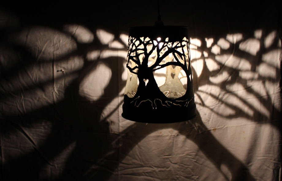 Three Trees lampshade